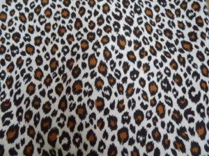coton oeko tex léopard