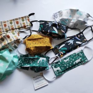 Masque facial en tissus – Enfants : sur stock