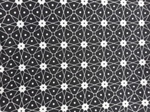 géométrique blanc noir