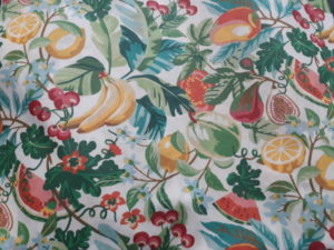 coton Oekotex imperméable - fruits